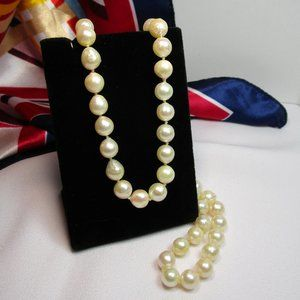 Vintage Baroque Cultured Pearl Necklace